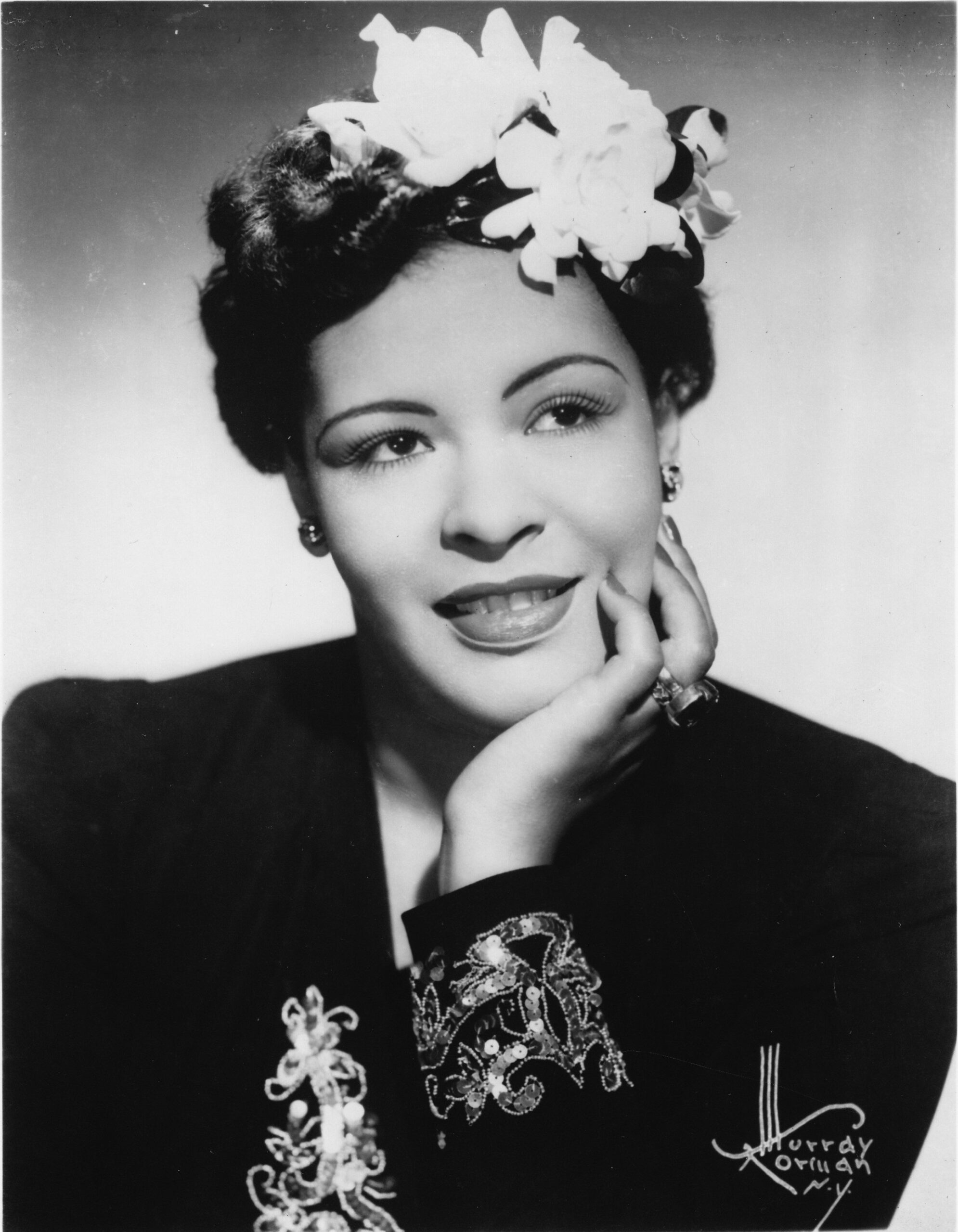 The Story Behind Billie Holiday's Iconic Gardenia Hair